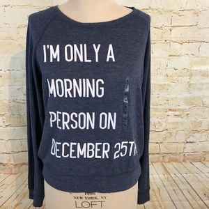 Freeze L I'm only a morning person on Dec 25 new